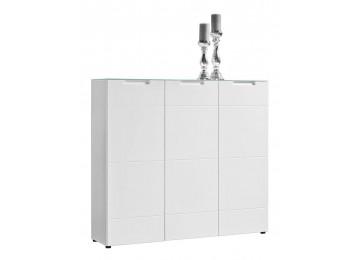 Kommode Mailand weiß Hochglanz ca. 135 x 120 x 34 cm