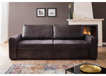Sofa Poll 3-Sitzer anthrazit